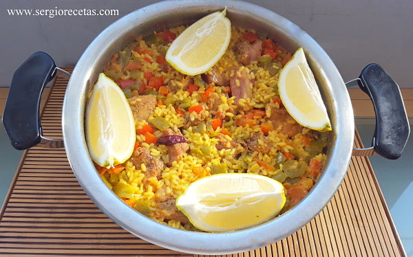 Arroz con costillas receta
