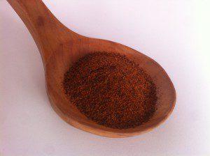 chile en polvo