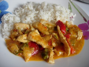 curry rojo tailandes