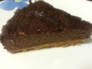 tarta de chocolate con especias