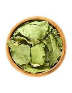 Lima Kaffir, hojas