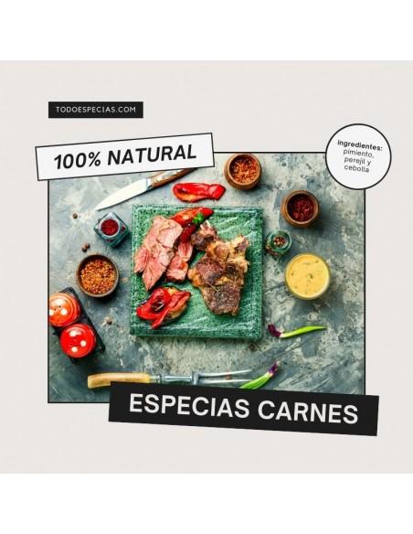 Especias para el adobo de carnes y vinagretas