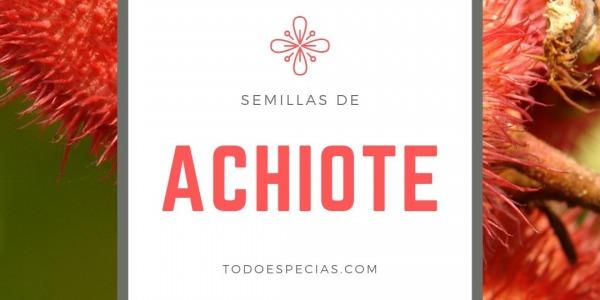El achiote